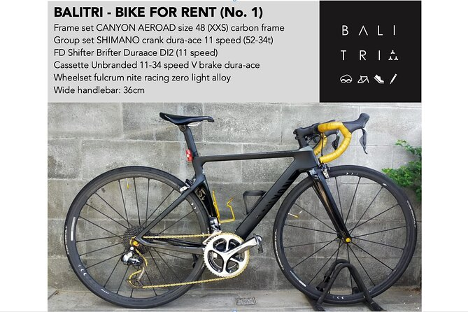 Bali road bike hire