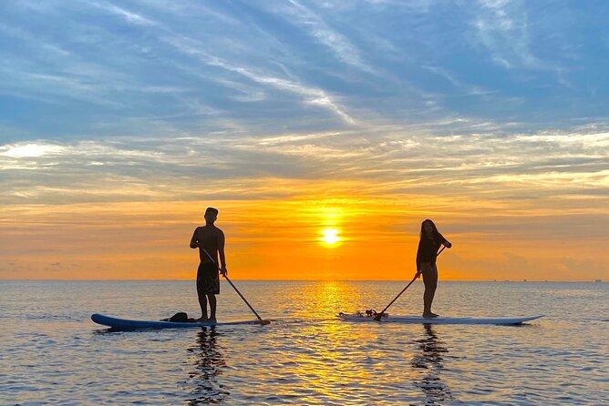 Sunrise Paddle Board