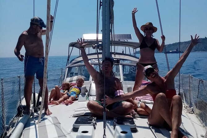 Sailing Yacht day trip of South Kefalonia