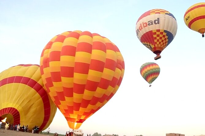 Package Hot Air Balloon and 5 More Attractions ( Luxor Full Day Tour )From Luxor