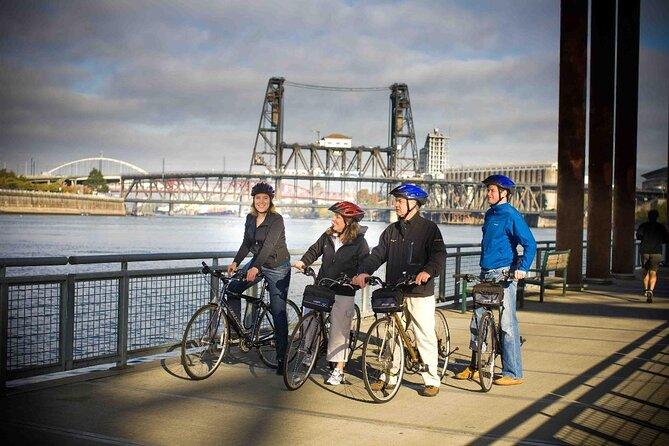 ポートランド・ダウンタウン自転車ツアー