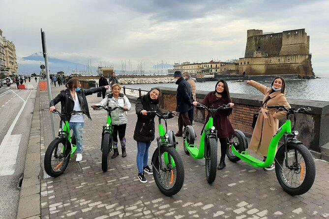 Guided tour of Naples by electric scooter