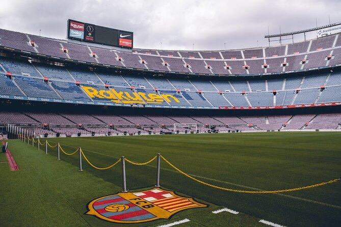 Private FC Barcelona Stadium visit & Montjuic Mountain E-Bike Tour