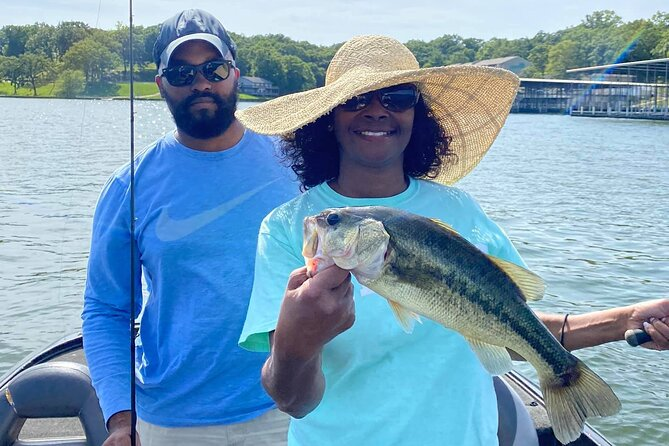 Half Day Fishing Charter Experience on Lake of the Ozarks