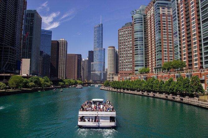 45-min Chicago River Architecture Tour - Magnificent Mile