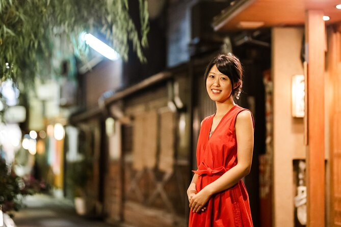 Kyoto Private Night Tour: From Gion District To Old Pontocho, 100% Personalized