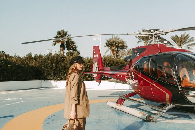 Dubai Helicopter Short Tour from Palm Jumeirah Island