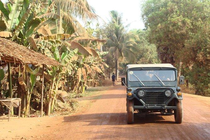 By Military Jeep to Phnom Kulen