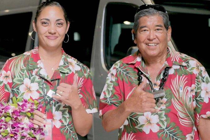 Private Round-Trip Transfer: Kona International Airport to Big Island Hotels