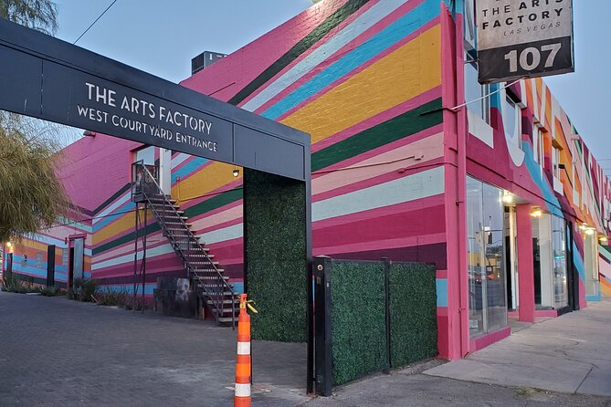Las Vegas Arts District Sightseeing and Foodie Tour