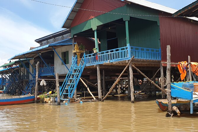 Country side and Tonle Sap village Full Day private Tour