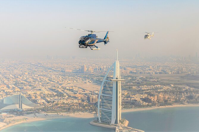 Dubai Helicopter Tour from Palm Jumeirah