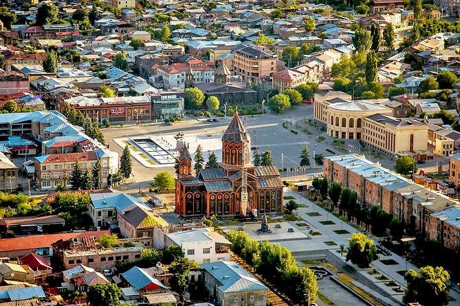 Group Tour: Gyumri (Urban Life museum, Black fortress, old town), Harichavank