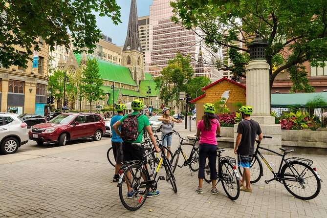 Montreal Bike Tour with Food Tasting Stops 2021