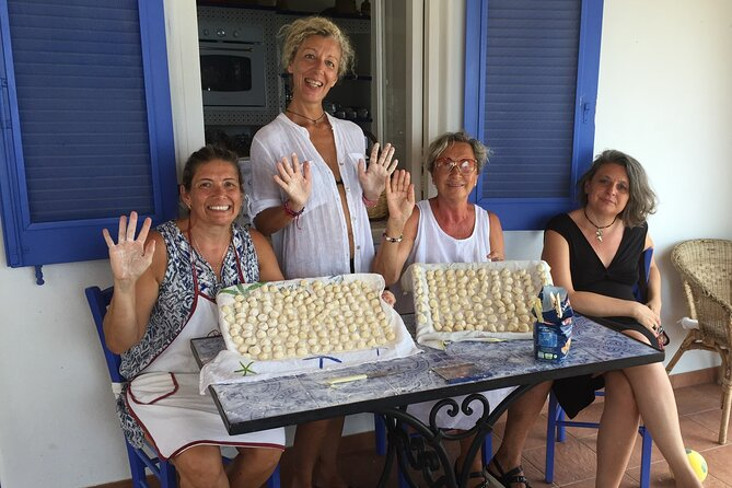 Private Cooking Class and Market Visit with Lunch in Lipari