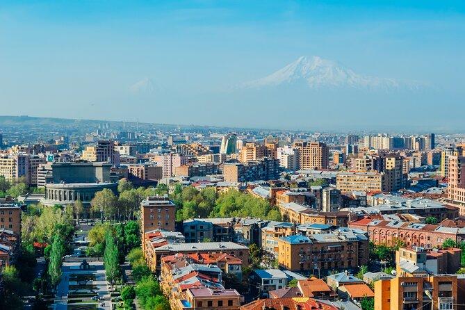 "Privat City Tour: Yerevan History Museum, ""Megeryan Carpet"", Tsitsernakaberd"