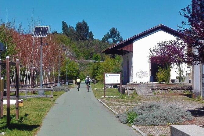 Cycling Ecopista do Dão one way