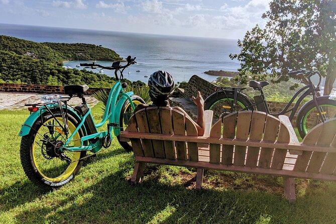 E-Bike Tour of Antigua Forts and Beaches