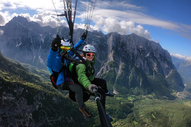 Private Paragliding Flight Experience over the Julian Alps