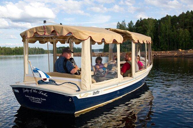 Lake Saimaa Small-Group Cruise with Stories and Music