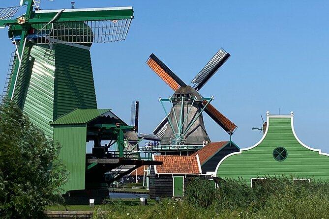 ZAANSE SCHANS, bike tour to the historic windmill village