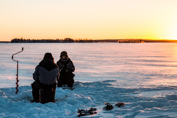 Great Ice Fishing Experience in Lapland