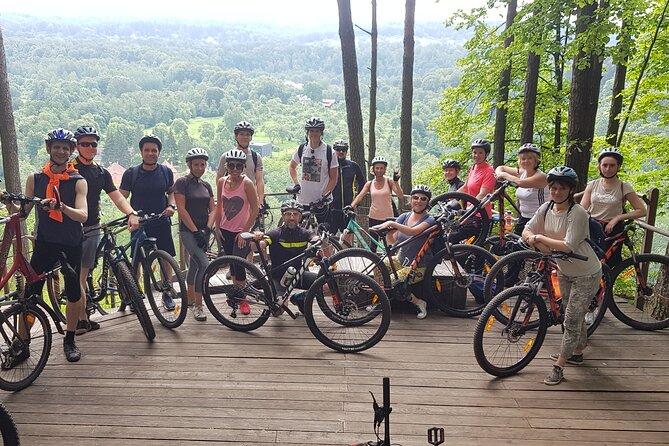 Private Mountain Bike Tour to Pavilnys Regional Park