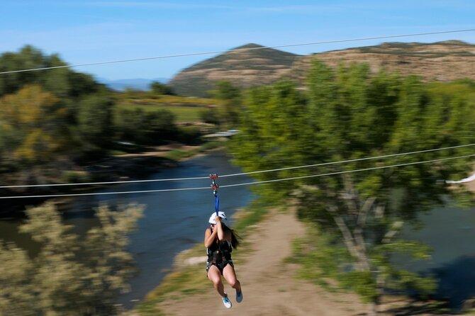 Small-Group Zipline Adventure in Durango