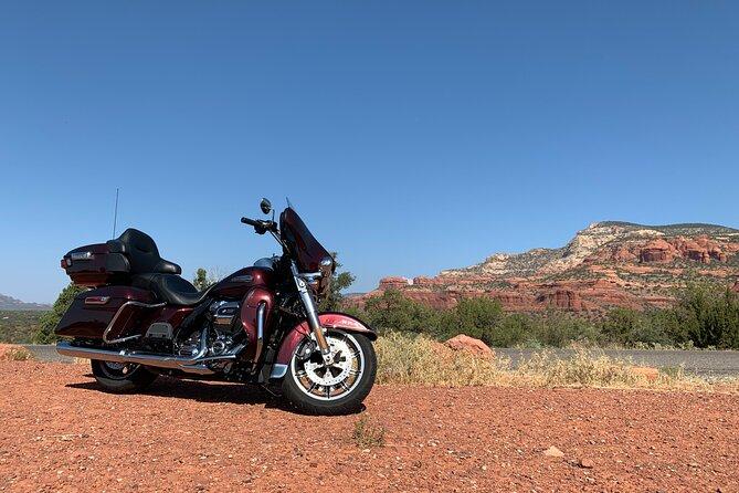 Harley-Davidson Boynton Canyon Private Tour in Sedona