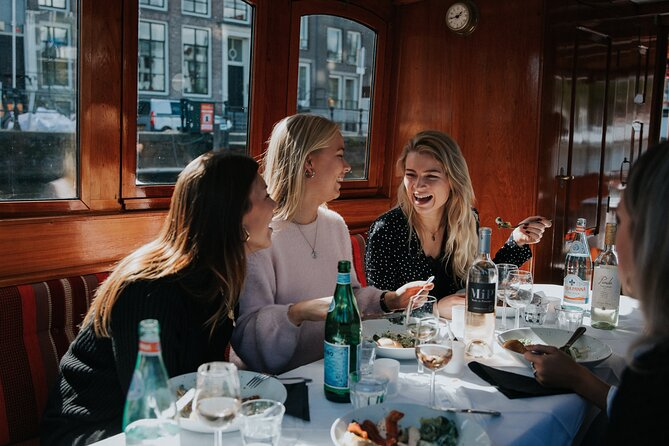 Private Luxury Dinner Cruise in Amsterdam