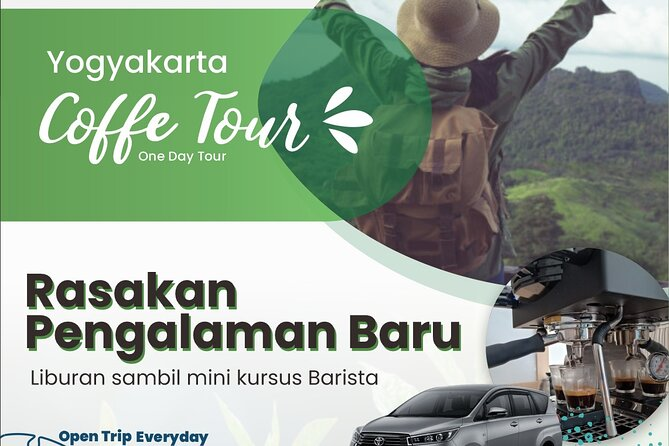 Yogyakarta Coffee Tour Package - Education Special with Barista Course