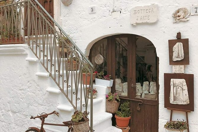 Day Tour of Ostuni, Martina Franca, Alberobello from Bari