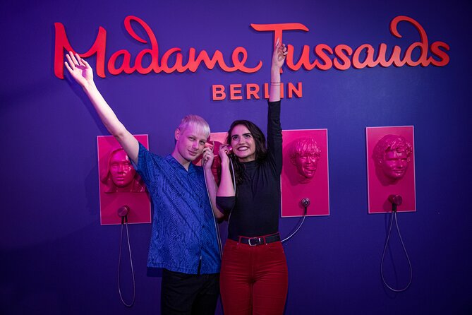 Madame Tussauds Berlin Admission Ticket