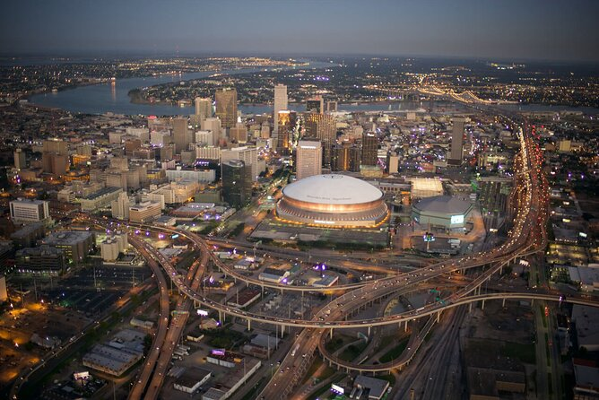 New Orleans Group Sightseeing Flight for 4-5 people