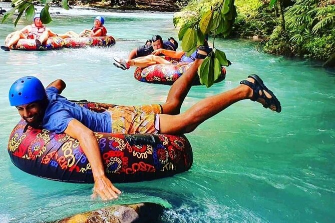 RIO CELESTE +TUBING : Wild Life+Lunch+Rain Forest+Waterfall+Active Volcano.