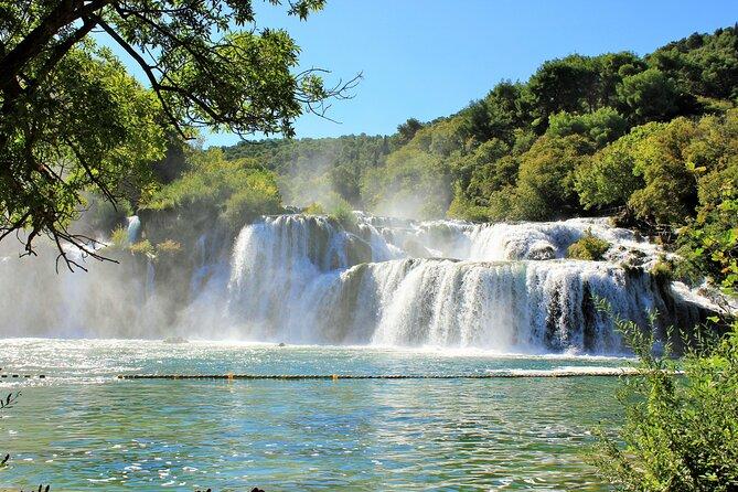 Private Krka Waterfalls Tour with Wine Tasting from Sibenik