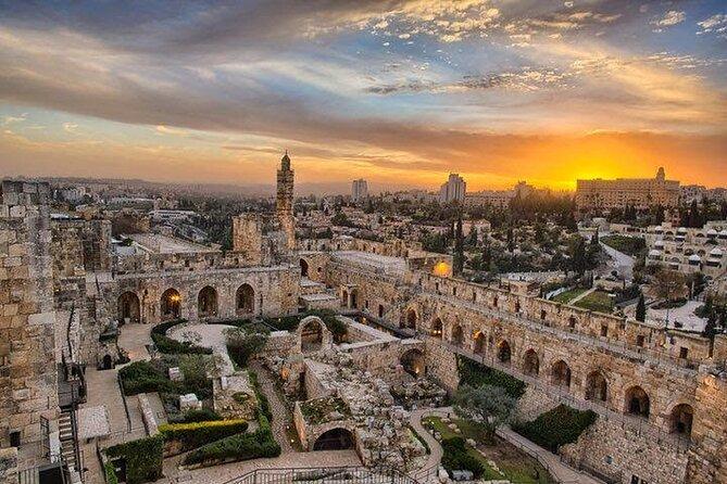 Visite privée: Tour de David et Vieille Ville de Jérusalem