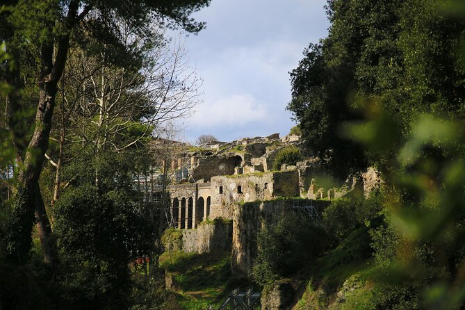 Tour of Pompeii & Amalfi Coast with Skip the Line & Pick Up from Salerno Port