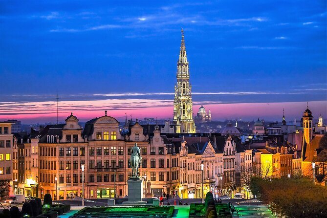 4-Hour Small-Group Beer and Food Pairing Tour in Brussels