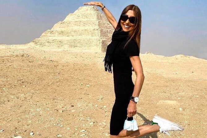 private day tour Sakkara step pyramids, Memphis old city& Dahshur 2 pyramids