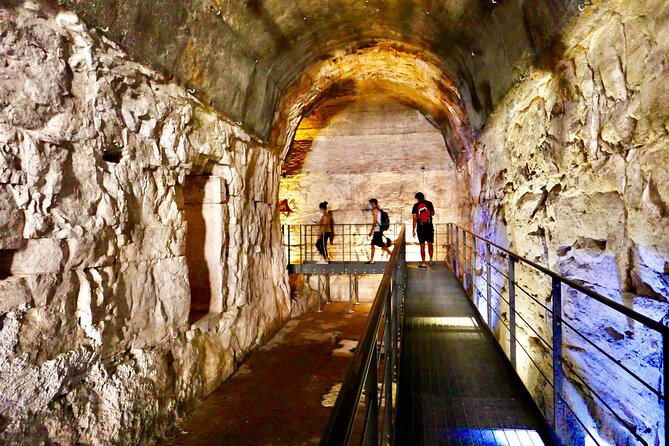 Guided Tour of Colosseum Undergrounds, Roman Forum and Palatine