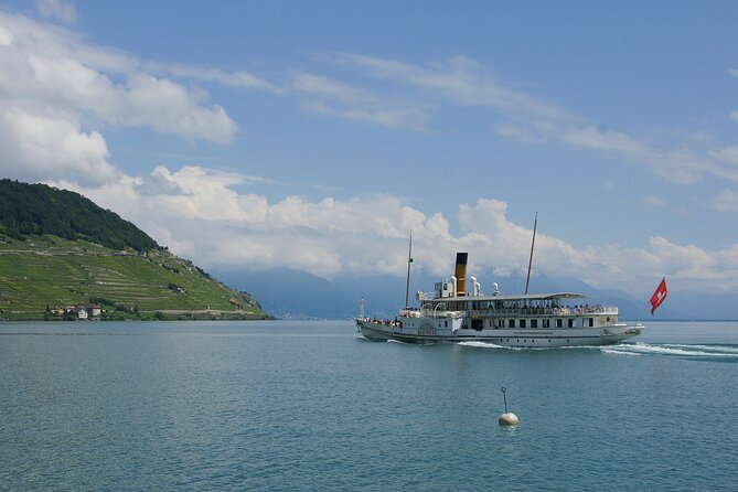 Round trip cruise from Lausanne to Chillon