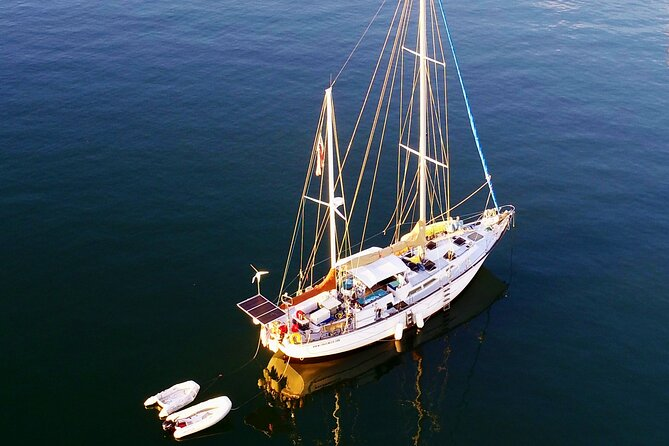 3 Hour Sailing and Snorkeling Tour on 60' Sailboat from Cruz Bay, St. John