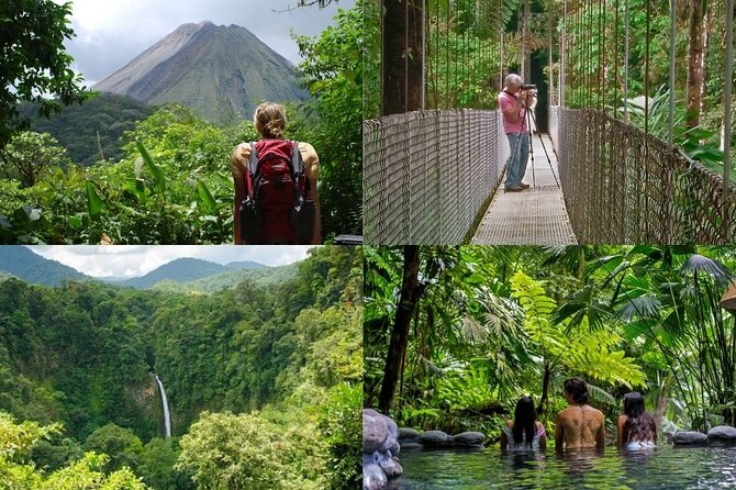 Arenal Best 4 Attractions (Full day - Combo)