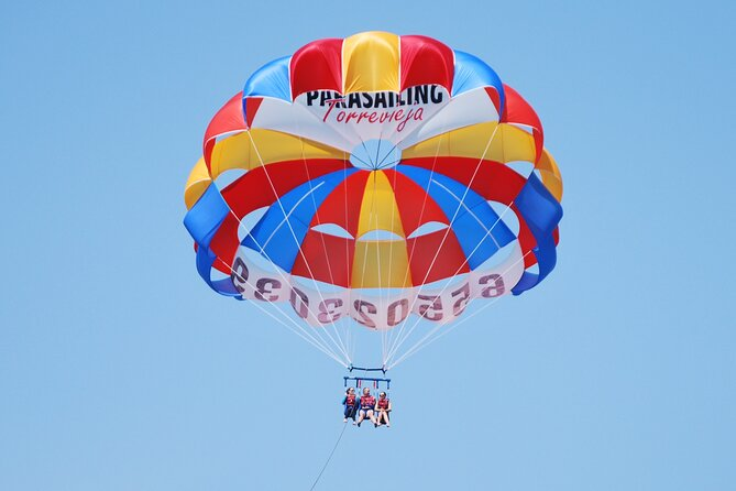 Parasailing in Torrevieja