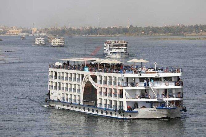 4-tägige Bootstour mit 5 Übernachtungen auf dem Nil von Luxor nach Assuan
