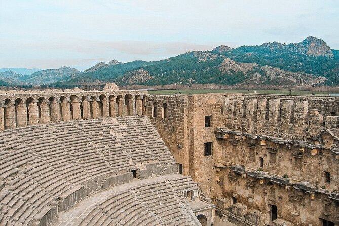 Perge and Aspendos Small-Group Tour with Lunch from Antalya