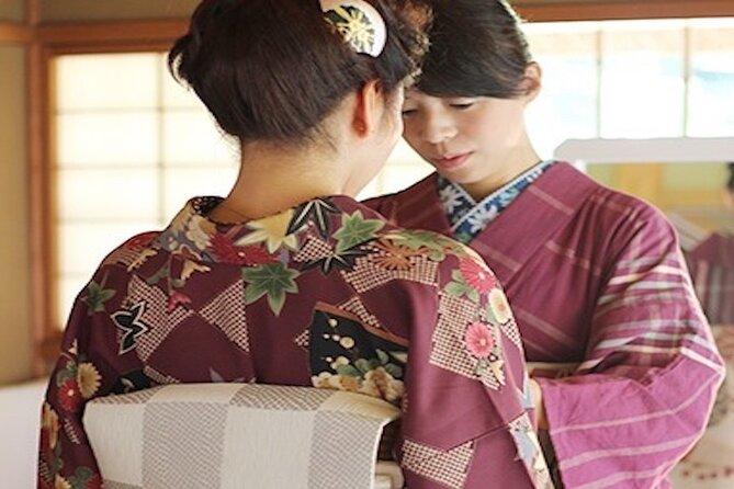 Origami i Kimono og spasertur rundt Shukkeien Garden eller Hiroshima Castle