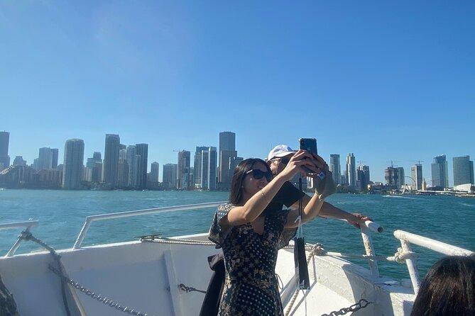 Miami Skyline Sunset Cruise with optional upgrade to Hard Rock Cafe & Sky Wheel