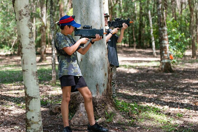 Laser Skirmish at Glenworth Valley Outdoor Adventures